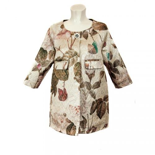Cappotto floreale Shirt à porter