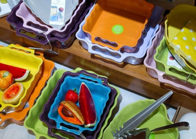 La tavola è sempre allegra e colorata con Essevu
