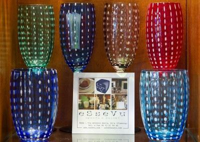 Anche i bicchieri sono estrosi da Essevu