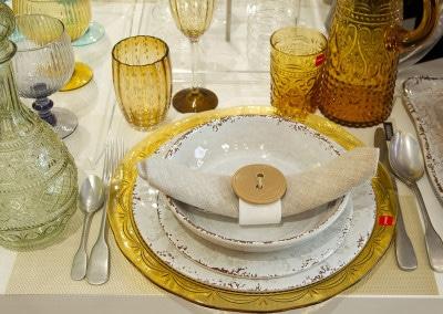 Mise en place per liste di nozze esclusive