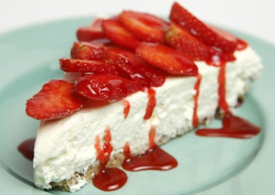 Il Cheesecake alle fragole