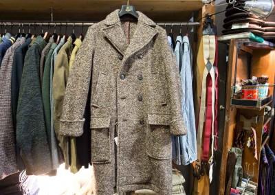 Selezione di cappotti in tweed