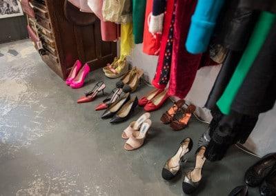 Selezione di scarpe vintage da Desii Vintage