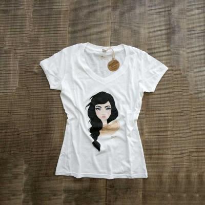 T-Shirt Donna Portrait HDoll