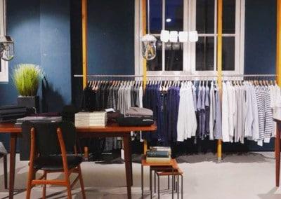 Design minimalista di Hutspot