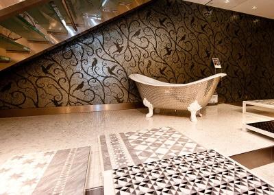 Una delle splendide vasche Sicis