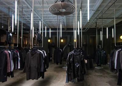 La parte dedicata alla moda uomo