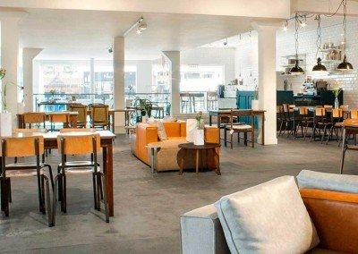 Il lunchroom di Van Woustraat