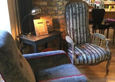 Un salotto vintage rimodernato da Scenography