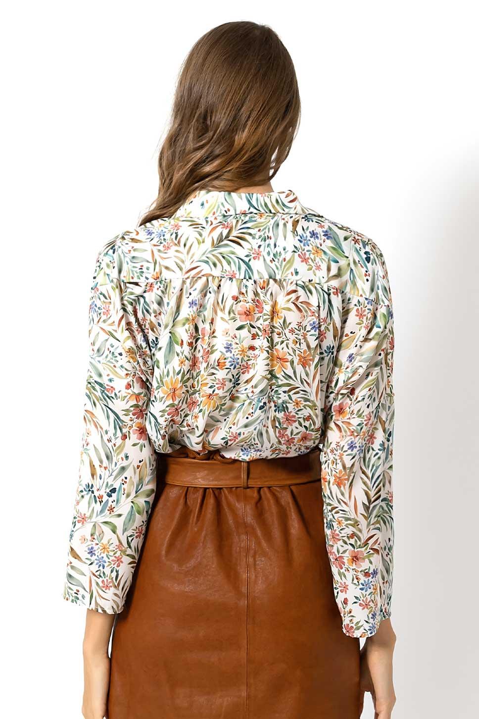 Camicia stampa floreale di Bec