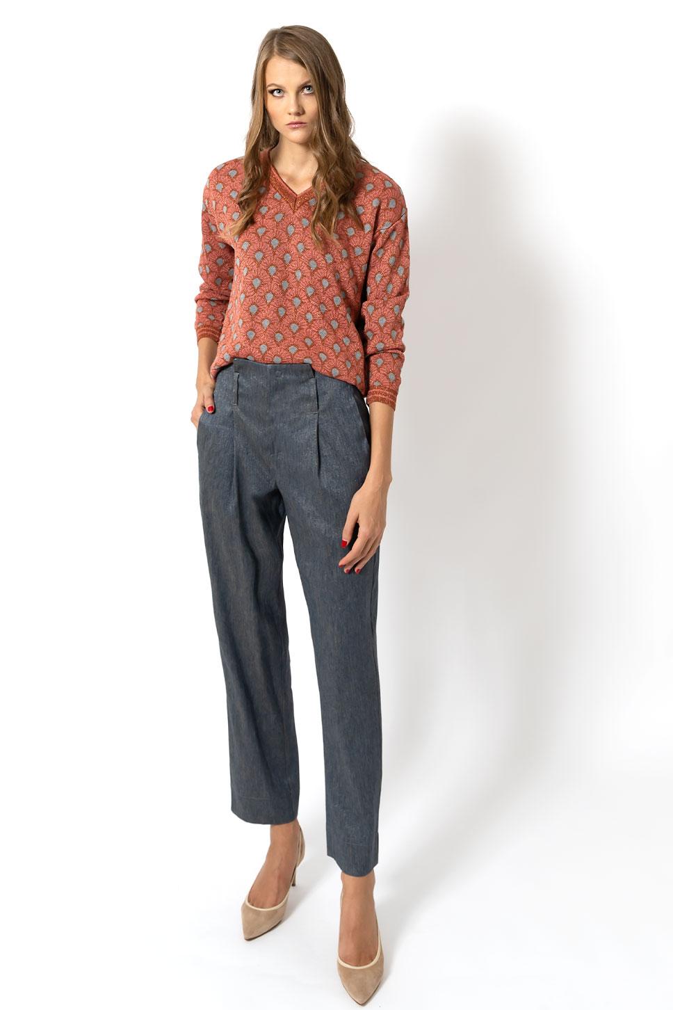 Pantalone vita alta di Bec