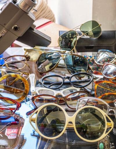 Collezione di occhiali originali