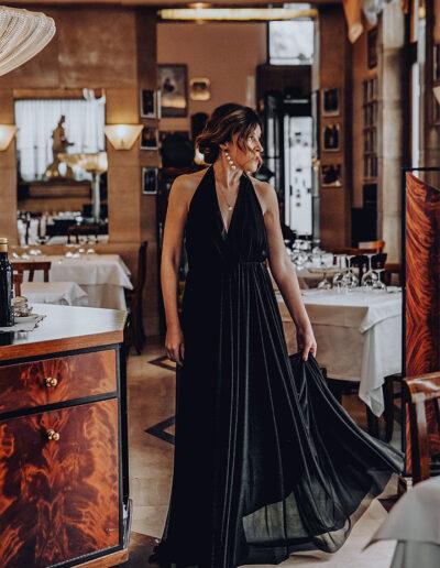 Black dress di The Crow Lab