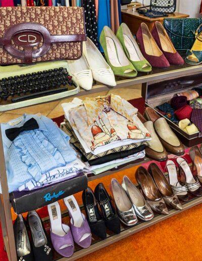 Scarpe e camicie vintage