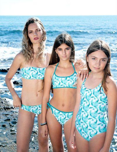 Costume donna modello Ponza, costumi girls modello Granulina e Scintilla