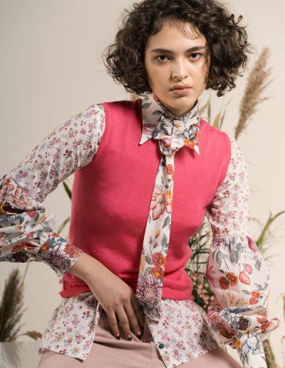 Camicia Claire 100% cotone liberty of Londo